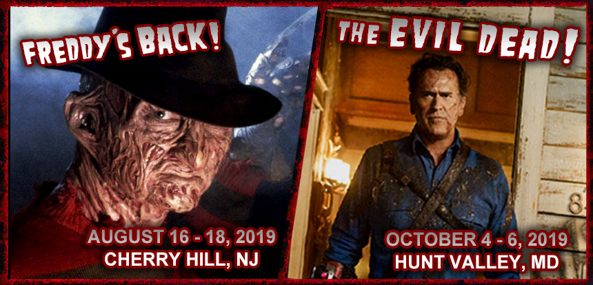 Monster-Mania Con / Philadelphia horror convention - East Coast
